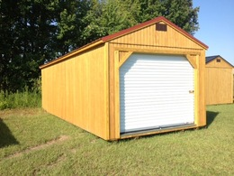Utility Shed Garage Package