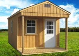 Utility Shed Playhouse Package